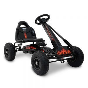 Kids Black Pedal Go Kart