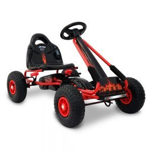 Kids Red Pedal Go Kart