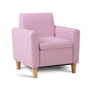 Kids Pink Single Chair