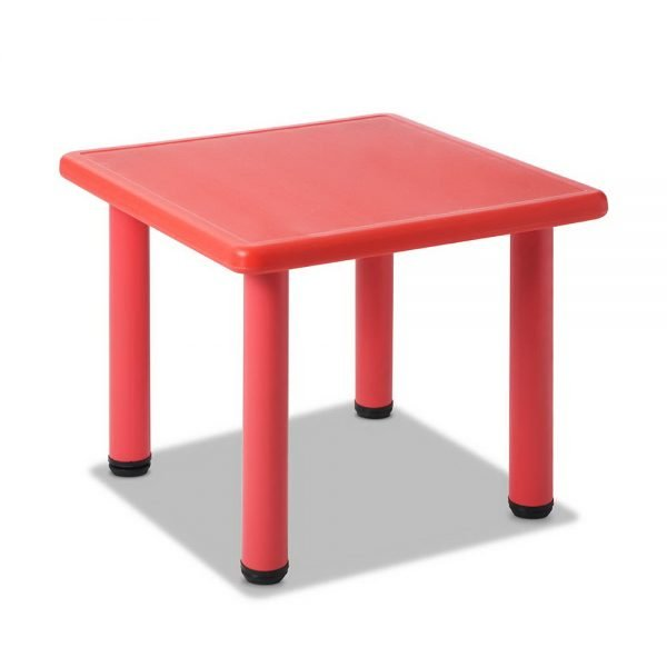 Kids Red Play Table