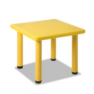 Kids Yellow Play Table