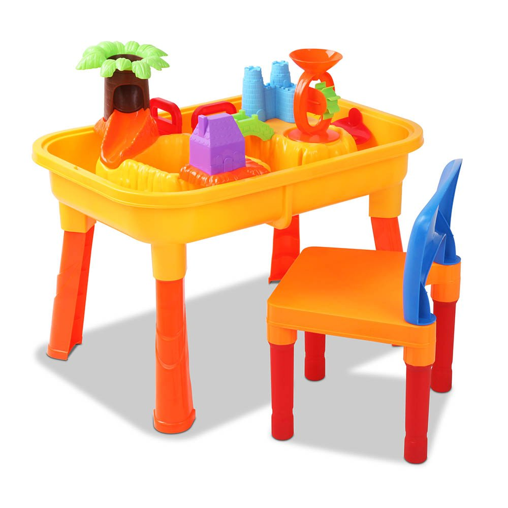 Kids Sand And Water Table Play Set Durable Safe Playtime Fun