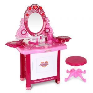 Kids 30 piece Pink Play Set Make Up Dresser