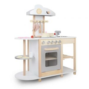 Children Wooden Kitchen Playset