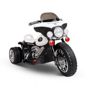 Harley inspired kids ride on motorbike