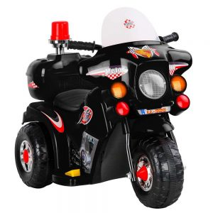 Kids Black Ride on Motorbike