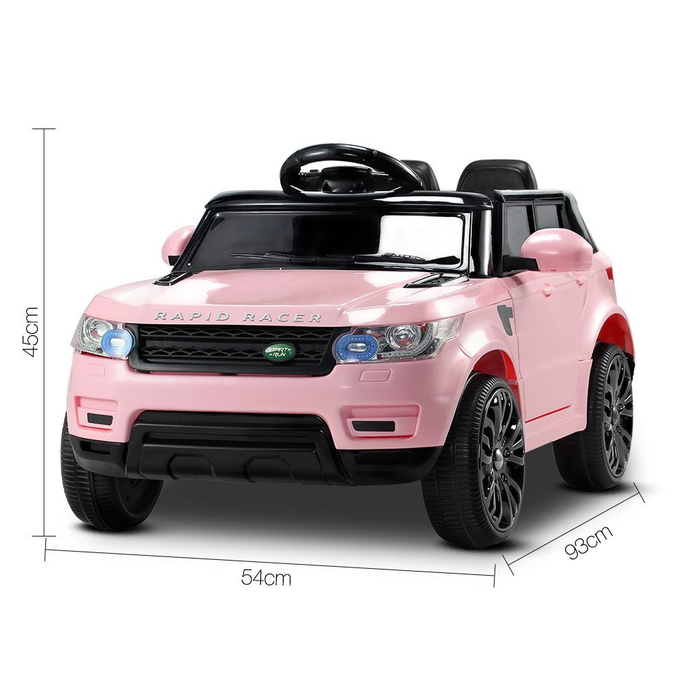 Kids Pink Range Rover Ride On Car