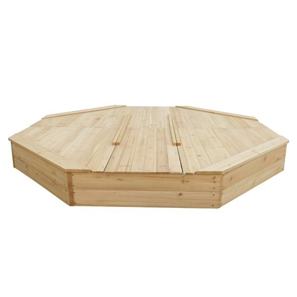 Large Octagonal Sandpit with Cover