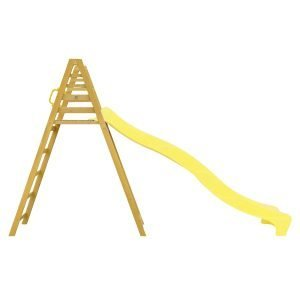 Jumbo 3m Climb & Slide In Yellow