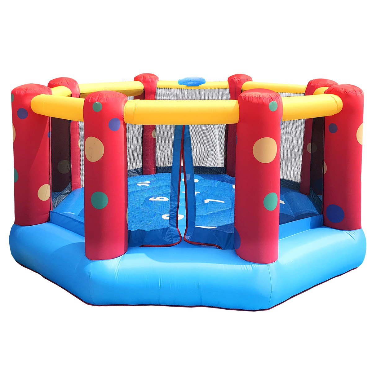 AirZone 8 Bouncer   outdoor playtime fun for the kids