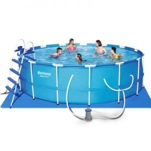Above Ground Swimming Pool with Filter Pump