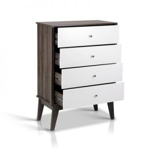 4 Chest of Drawers Storage Cabinet