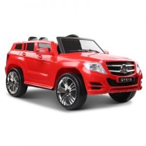 Mercedes Benz Red ML450 Electric Car