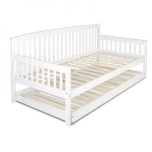 Single Size Wooden Bed Frame with Trundle