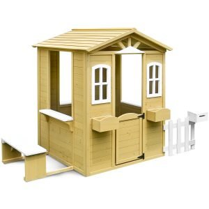Teddy Cubby House Set with Floor