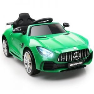 Kid's Green Ride on Mercedes-AMG GT R