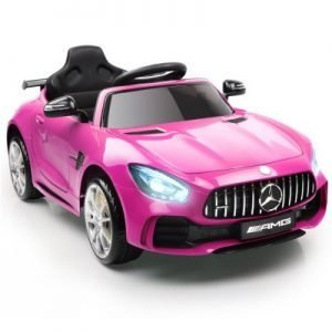 Kid's Pink Ride on Mercedes-AMG GT R